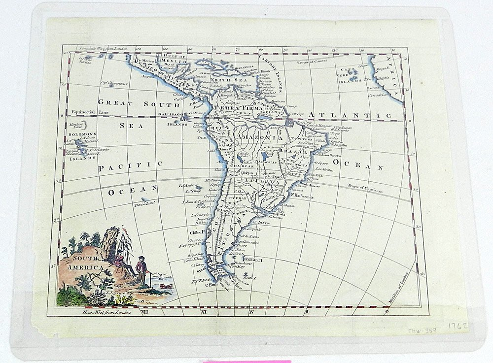 Four 18th C. Maps of South America