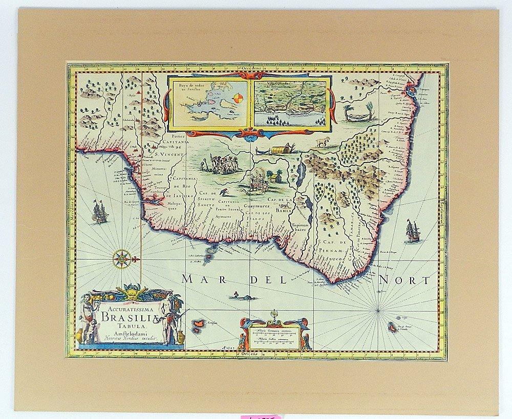Two Maps of Brasilia