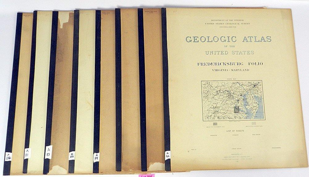 Eight Geologic Atlases of the U.S.