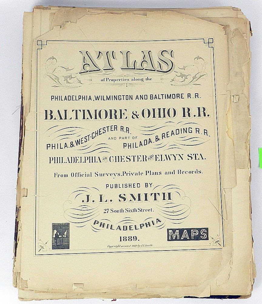 1889 B&O Railroad Atlas