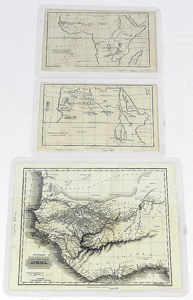 Thirteen 19th C. Maps of Africa