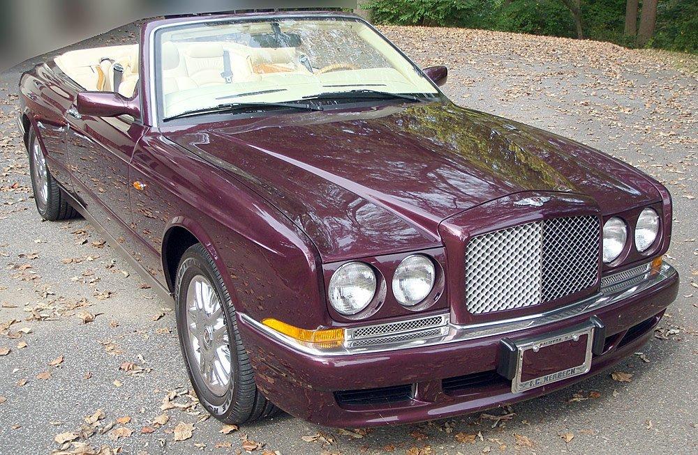 2000 Bentley Azure Convertible