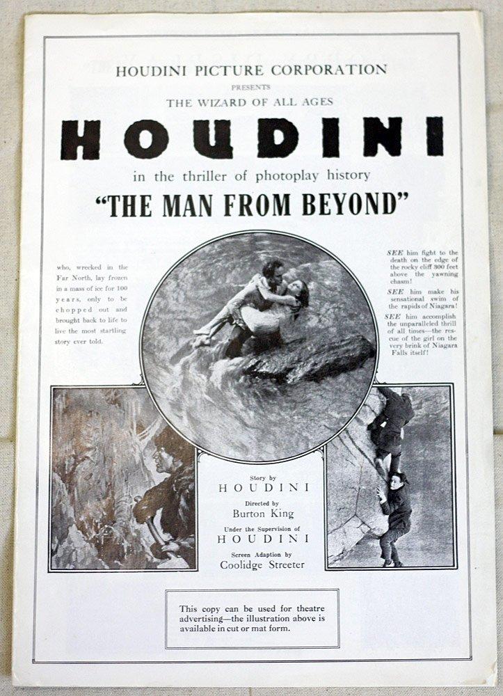 Harry Houdini Press Booklet