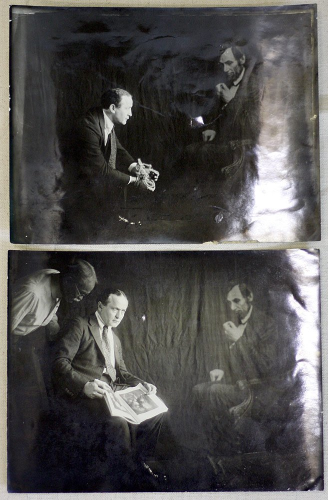 Two Houdini Spirit Photographs