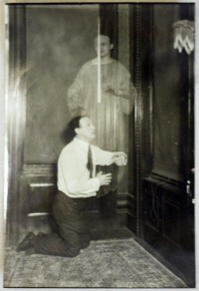 Harry Houdini Spirit Photograph
