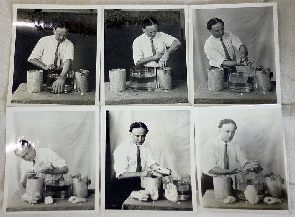 Six Harry Houdini Photographs