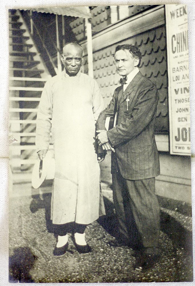 Harry Houdini/Ching Ling Foo Photograph