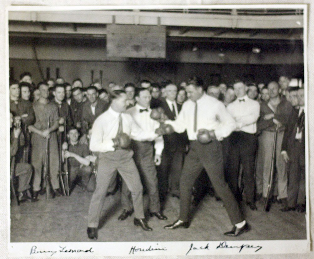 Staged Houdini Photograph