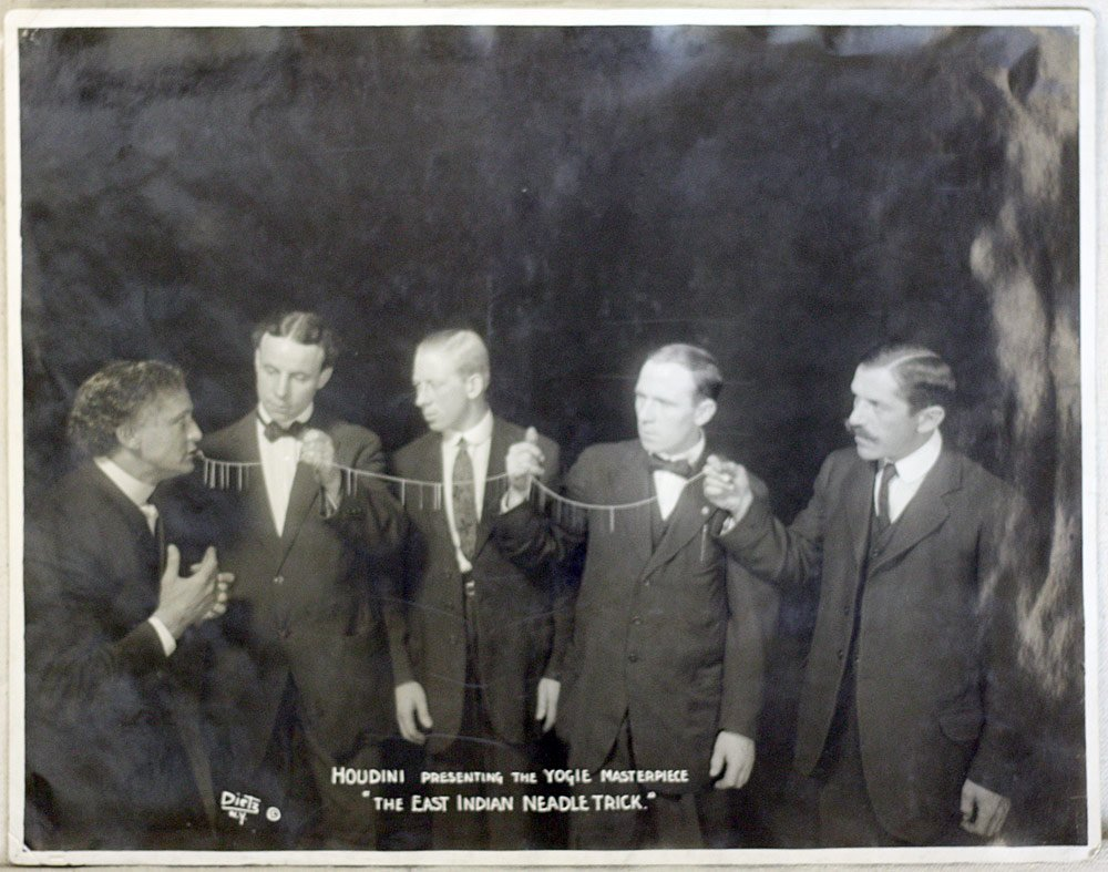 Harry Houdini Photograph