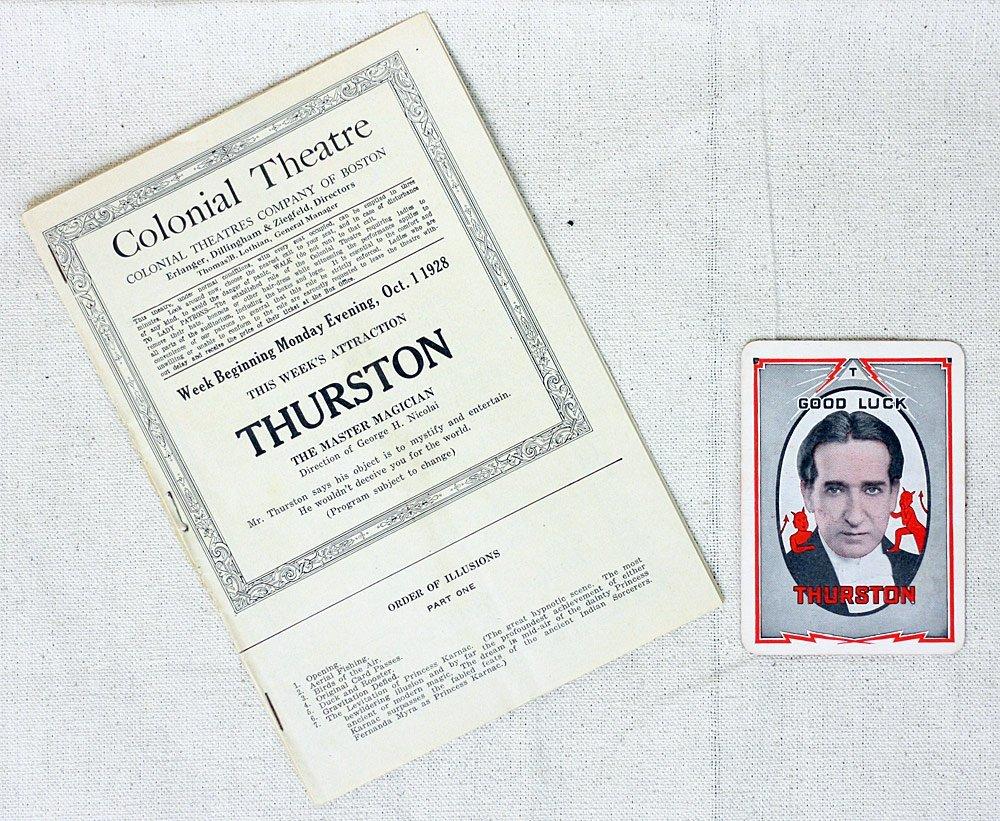 Howard Thurston Ephemera Grouping