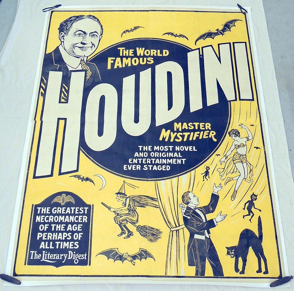 Harry Houdini Billboard