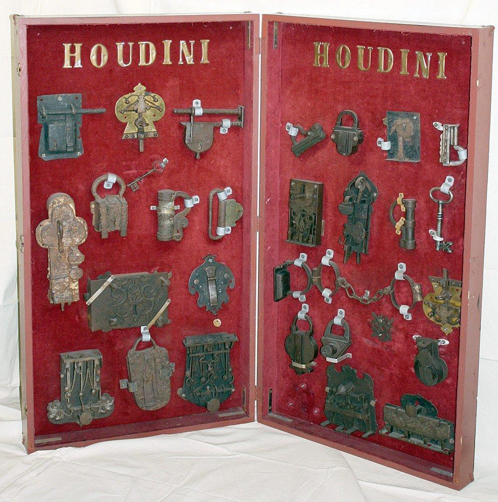 Harry Houdini Padlocks Collection