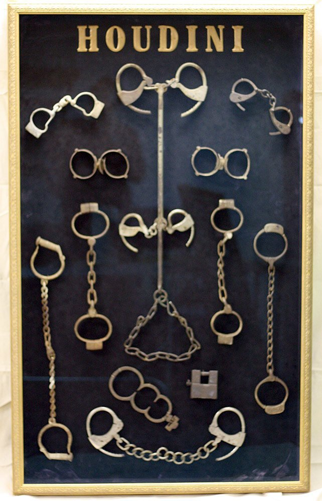 Harry Houdini Shackles Collection
