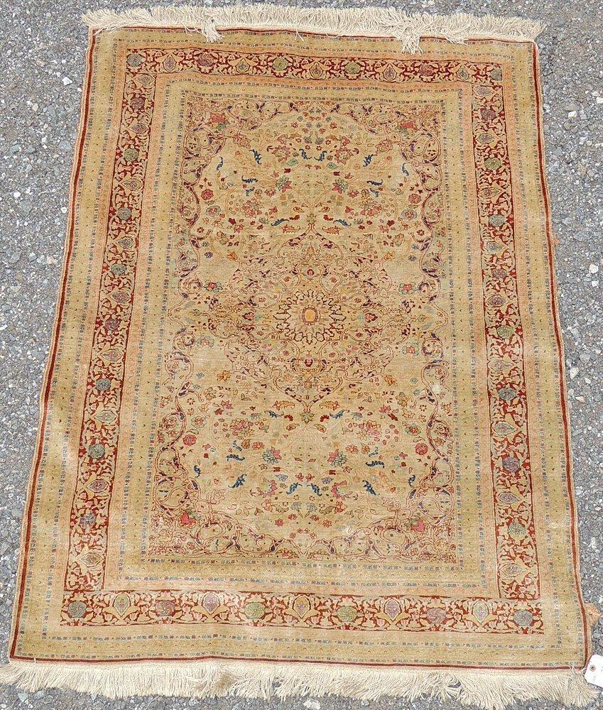 Silk Area Carpet
