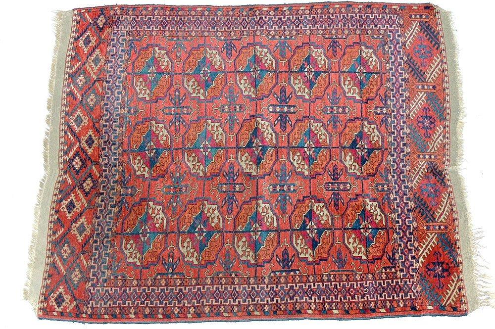 Antique Bokhara Area-Size Carpet