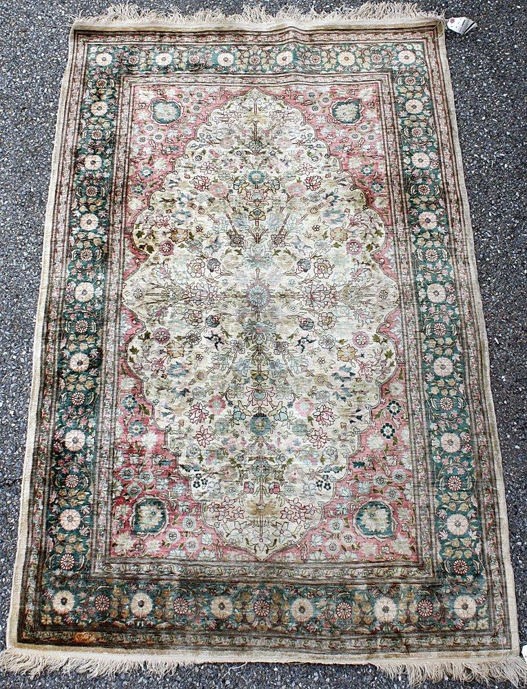 Iranian Silk Carpet