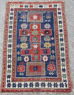 Kazak Area-Size Carpet