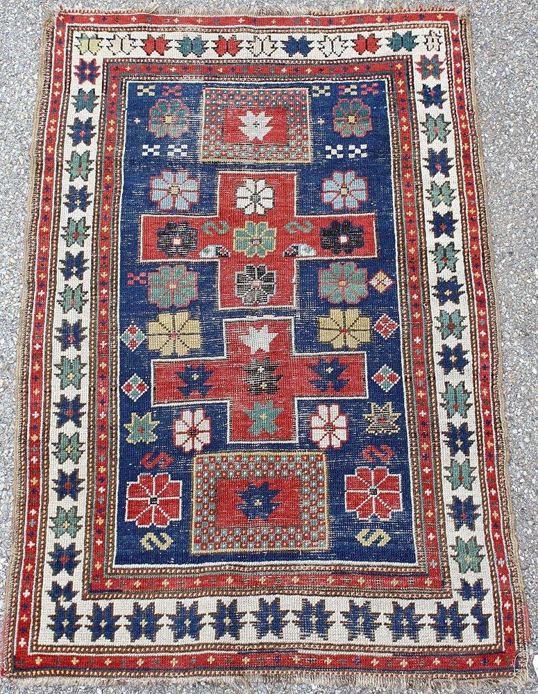 Kazak Area-Size Carpet