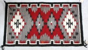 Navajo Wool Hand-woven Carpet