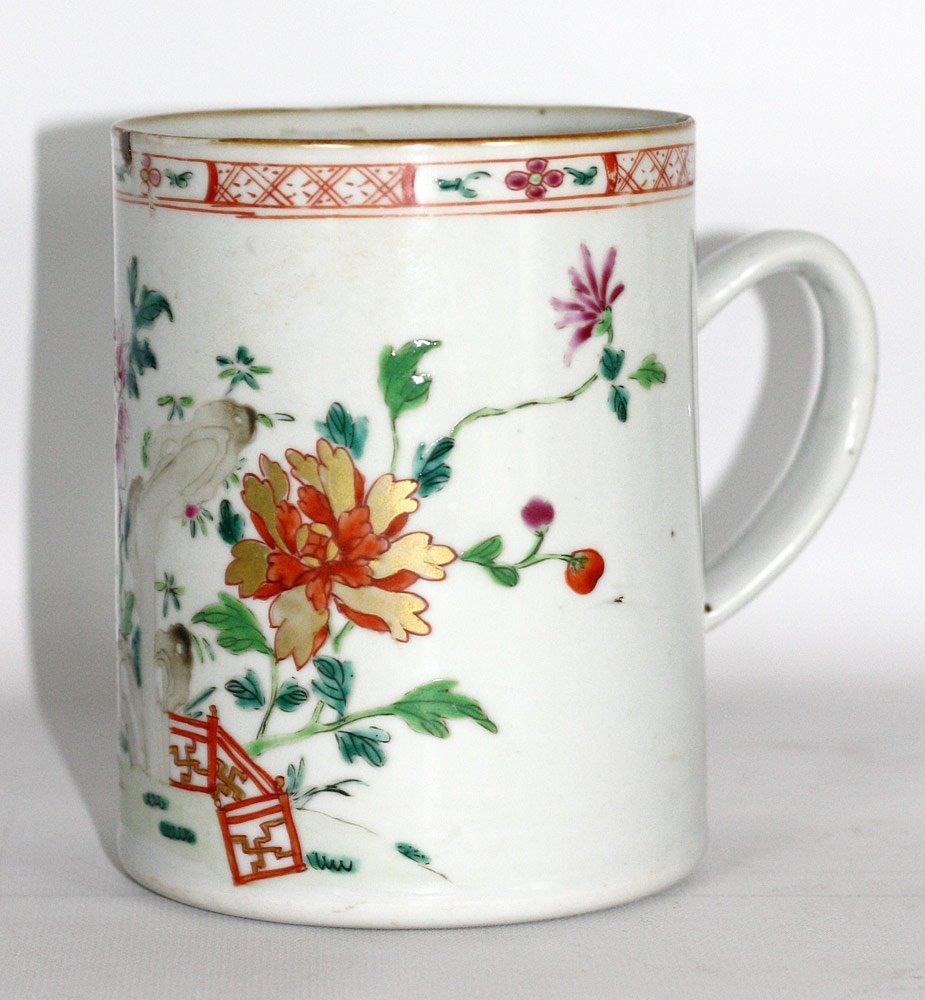 Chinese Export Porcelain Mug