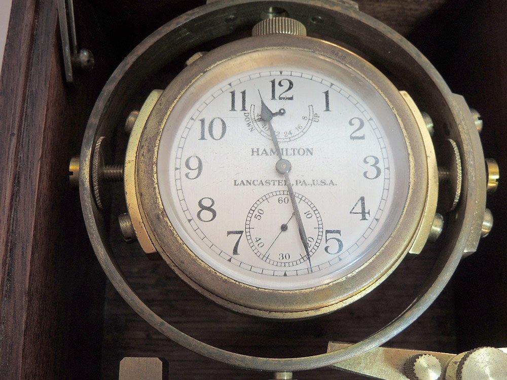 Hamilton Model 22 Ships Chronometer - 2