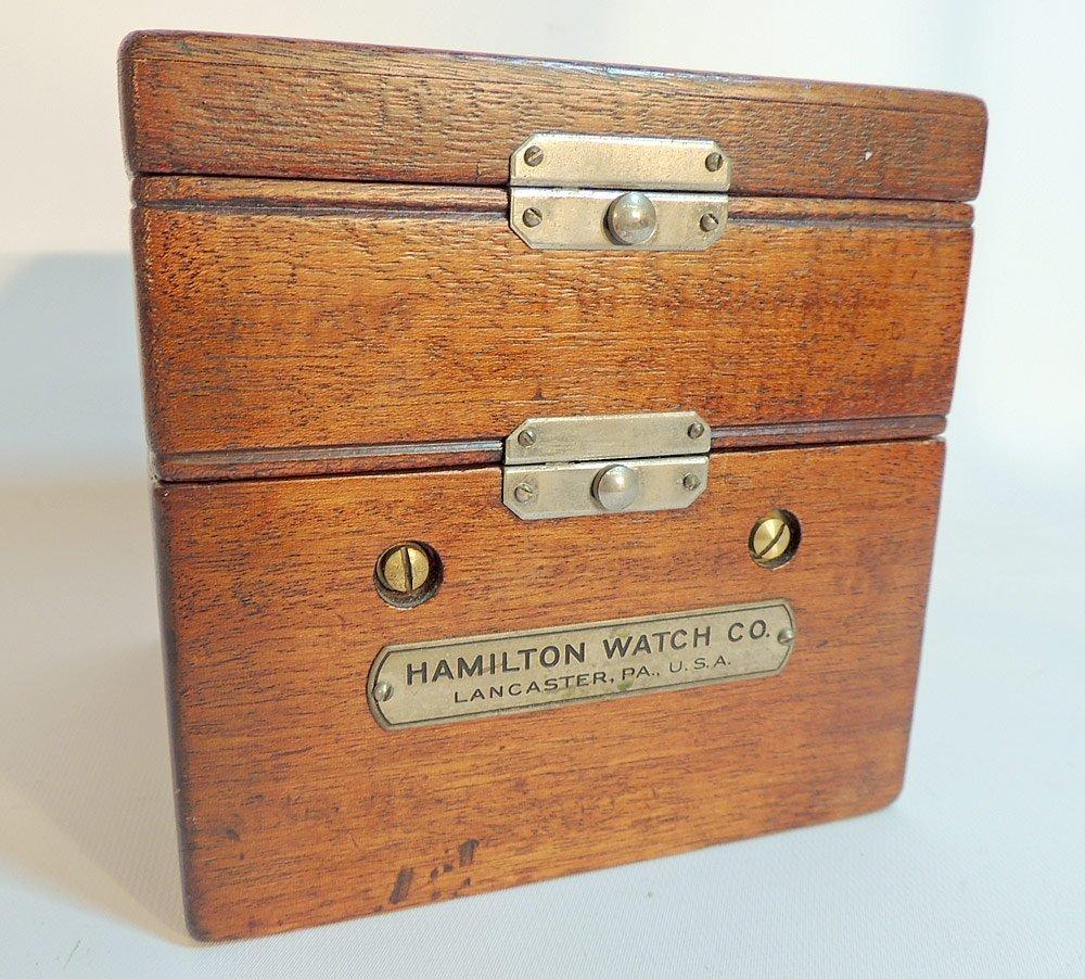 Hamilton Model 22 Ships Chronometer - 5