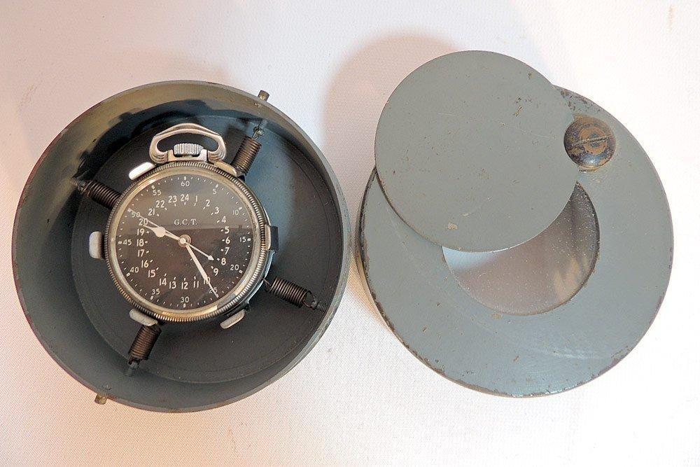 Hamilton Model 4992B U.S. Army Pocket Watch - 4