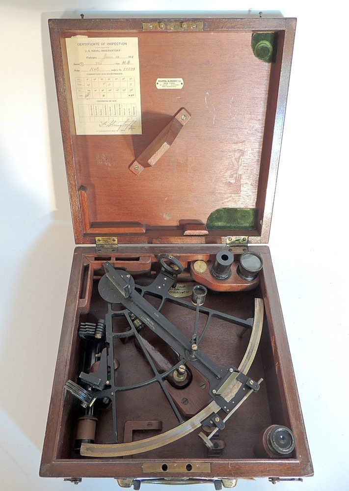 Keuffel and Esser Co. Naval Sextant