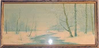 Raphael Senseman Watercolor