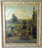 William John Hennessy, Oil/Canvas, Genre Scene