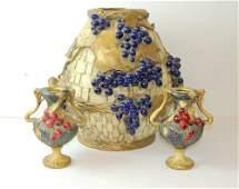 Three Pieces of Amphora Pottery