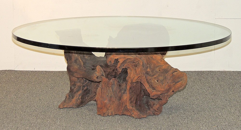 Spalted Sycamore Root Cocktail Table