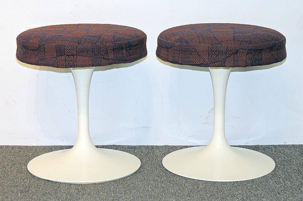 Pair of Eero Saarinen Tulip Stools
