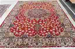 Persian Kirman Room-size Carpet