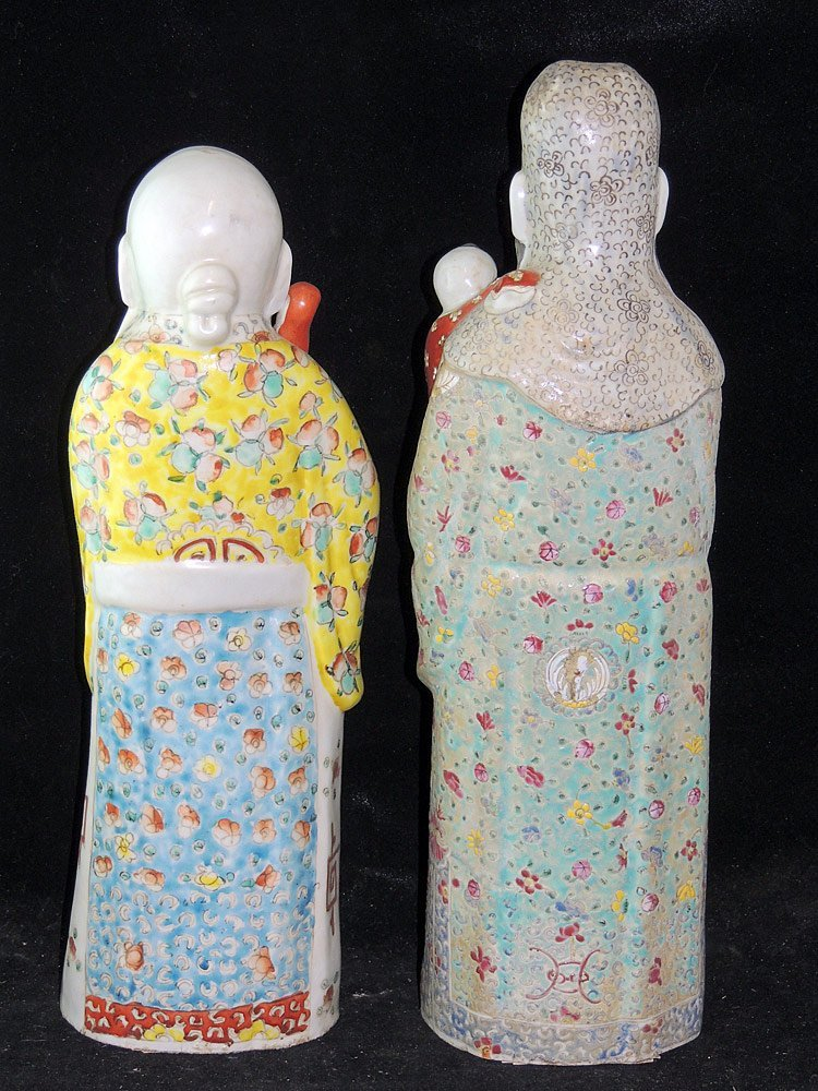 Two Chinese Porcelain Figures - 2