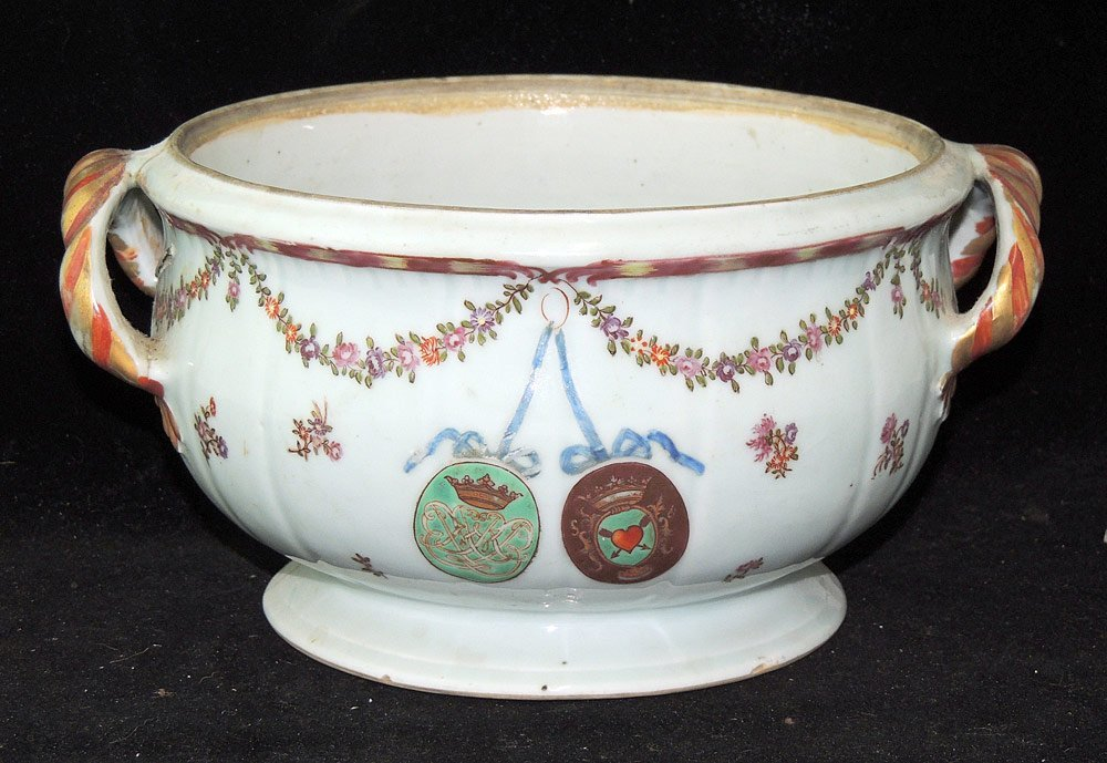 Chinese Export Armorial Tureen