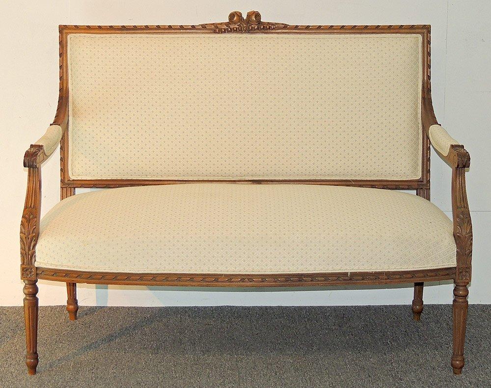 French Louis XVI-style 5-piece Parlor Suite