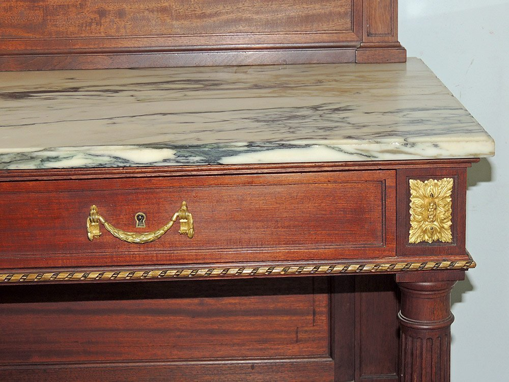 French Marble-top Server - 3
