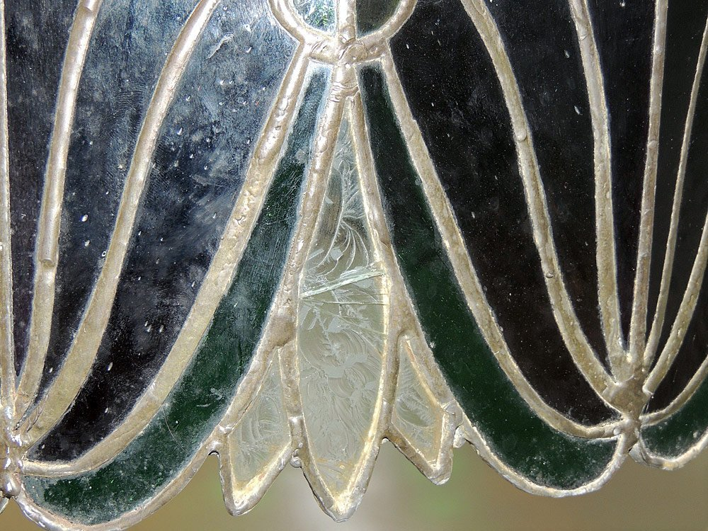 Leaded Stained-glass Hanging Shade - 2