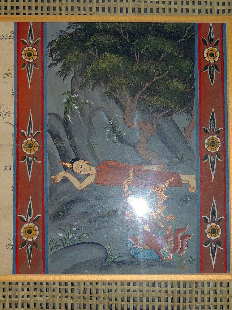 Two Tibetan Illuminated Sutra Panels - 3