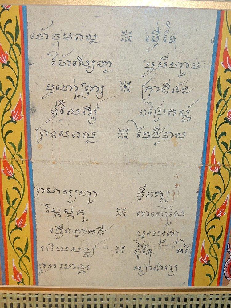 Two Tibetan Illuminated Sutra Panels - 4