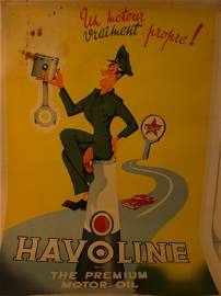 529: Caltex Havoline' Original Advertisement Poster