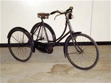 1: 1920s SUNBEAM LADIES TRICYCLE