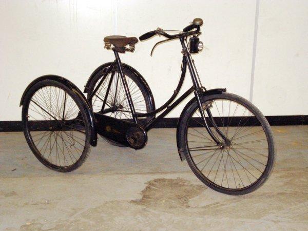 1: 1920s SUNBEAM LADIES TRICYCLE