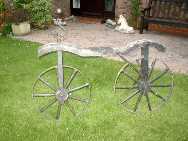 16: HOBBY HORSE BICYCLE