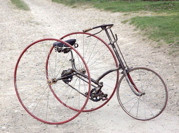 17: c1888 HUMBER TRICYCLE