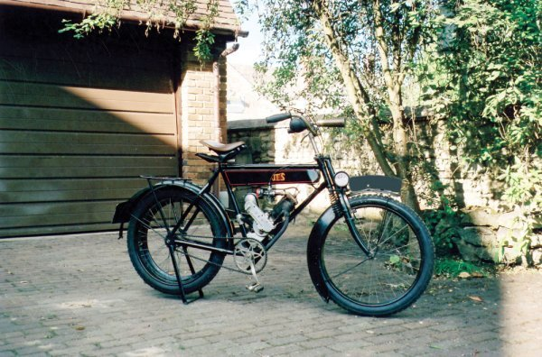 104: 1921 JES MOTOCYCLETTE