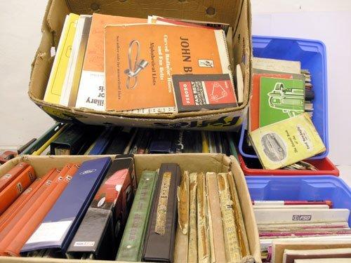 105: Large Quantity of Assorted Literature