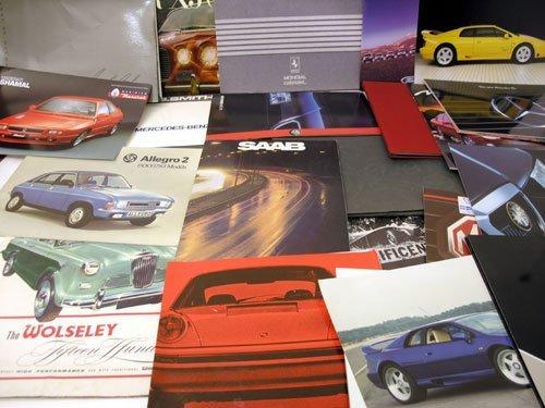 107: Assorted Sales Brochures