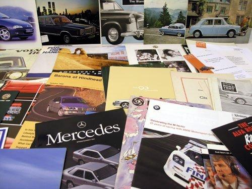 109: Assorted Sales Brochures